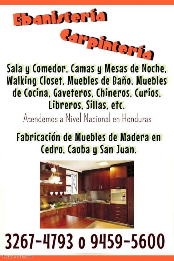 Muebles de cocina hechos en maderas preciosas… en San Pedro Sula ...