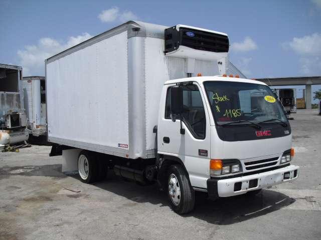 2004 gmc modelo w5500 camion refrigerado