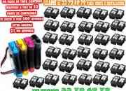 Flujo continuo tinta equivalente a 32 pares cartuchos impresora
