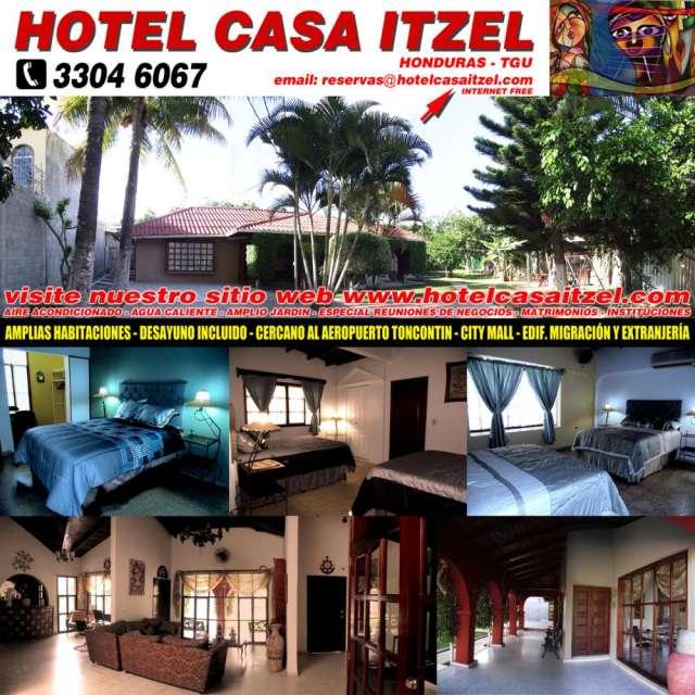 Hotel casa itzel en honduras tegucigalpa