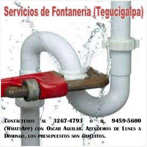 Servicios de fontanería en tegucigalpa