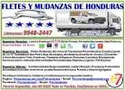 Fletes y mudanzas de honduras 24/7 cel.: 9948-2447