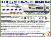 FLETES Y MUDANZAS EN SAN PEDRO SULA 24 Horas