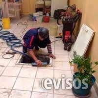 Tratamiento y lavado de cisternas