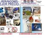 Mantenimiento de Residencias SOS
