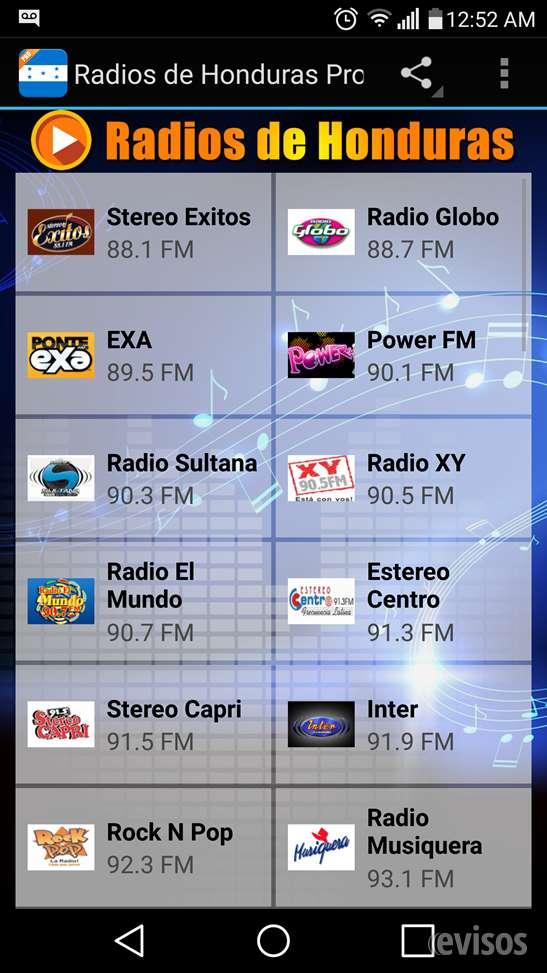 Radios de honduras pro ????