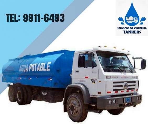 Servicio agua potable a domicilio