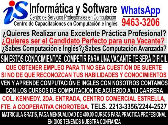 Cursos de computacion tegucigalpa