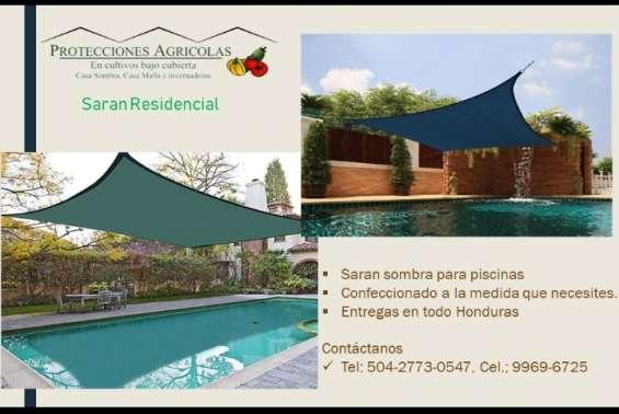 Saran sombra para tus piscinas y áreas de descanso