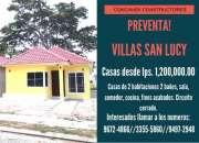 Preventa en villas san lucy sps