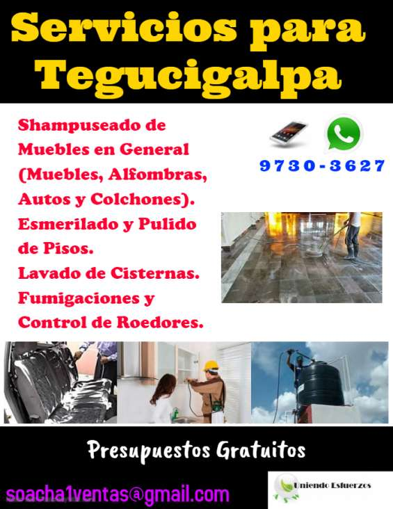 Servicios para el hogar en tegucigalpa