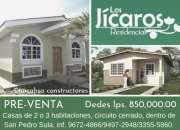 Pre- venta residencial los jicaros sps