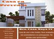 Preventa de casas  res. casa maya iv