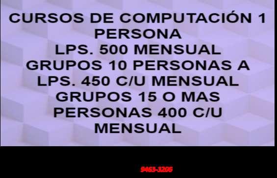 Computacion tegucigalpa