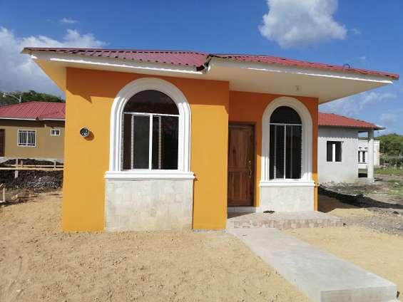 Casas con cuotas desde lps. 3900