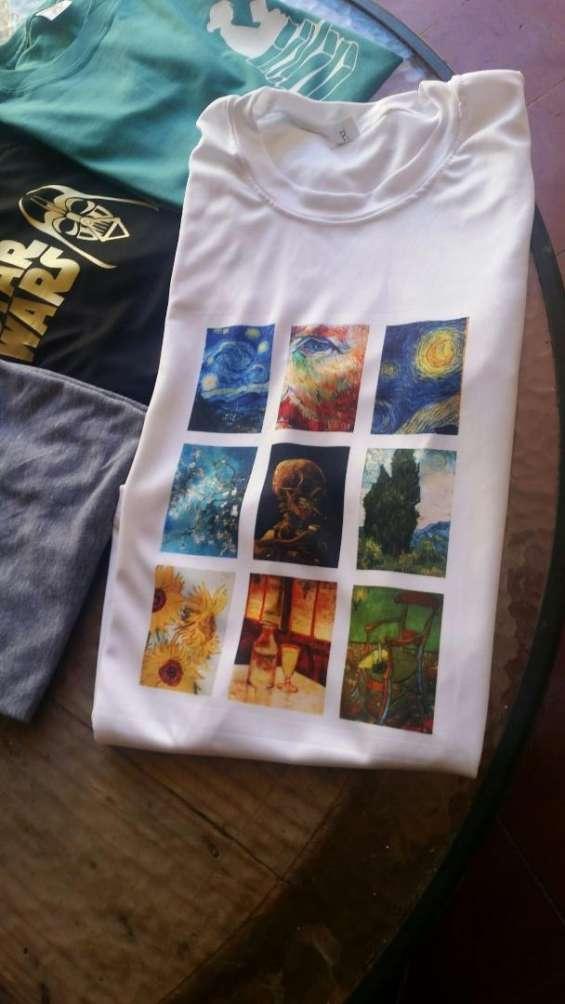 Camisetas personalizadas a tu gusto por 150 lempiras