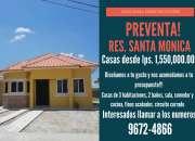 Preventa de casas residencial santa monica sps