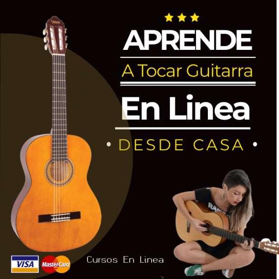 Aprende guitarra en linea